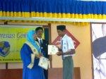 Nasyriq rajin datang sekolah